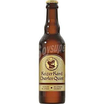CARLOS V BLONDE Cerveza rubia belga botella 33 cl 33 cl