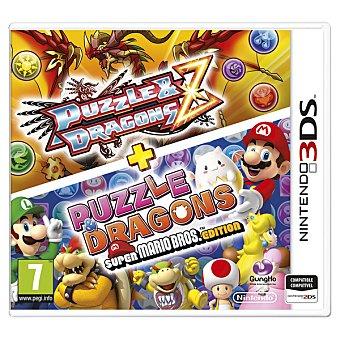 Mario Videojuego Puzzle & Dragons Z + Puzzle & Dragons Super Bros. Edition para 3DS