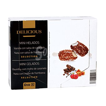 DIA DELICIOUS Helado mini bombón Caja 296 gr