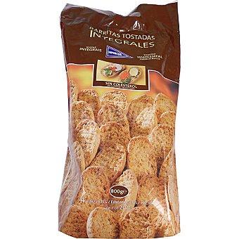 Hipercor Barritas de pan tostadas integrales Bolsa 800 g