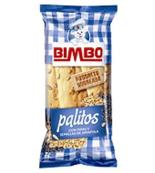 Bimbo Palitos con pipas y semillas de amapola 65 g