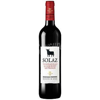 Solaz Vino tinto joven Do Mancha Botella 75 cl