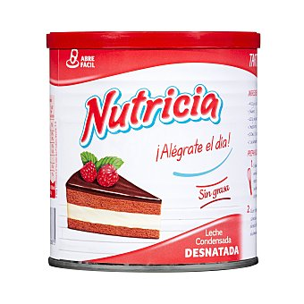 Nutricia Leche condensada desnatada Bote 1040 g