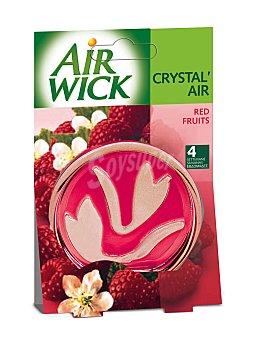 REUTILIZADA Ambientador Frutas Rojas AIR wick Crystal Air 1 Unidad 1 Unidad