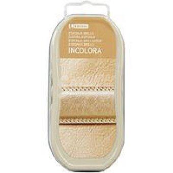 Eroski Esponja incolora autobrillante para calzado Pack 1 unid