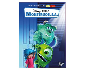 ANIMACIÓN Monstruos S.A. Película en Dvd . Género: infantil cine familiar. Edad: +6 años