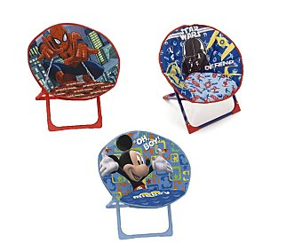Arditex Silla infantil plegable con imágenes de superheroes o personajes infantiles arditex