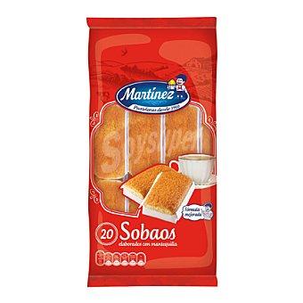 Martínez Bimbo Sobao pasiego paquete 20 unidades (400 g)