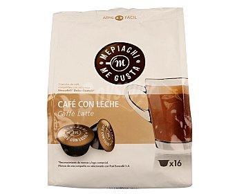 MEPIACH Café con leche en monodosis 16 unidades