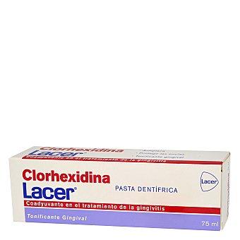 LACER Clorhexidina Pasta dentífrica tonificante gingival ,lacer Clorhexidina 75 Mililitros