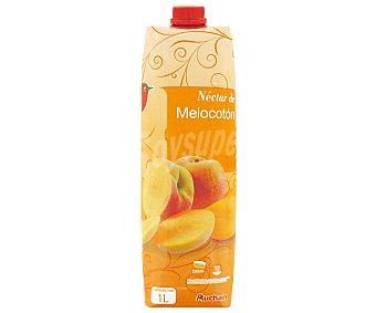 Auchan Néctar de melocotón 1 litro