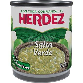 Herdez Salsa mexicana verde Lata 210 g