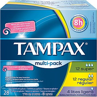 Tampax Tampon multipack 28 unidades