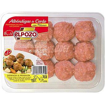 ElPozo Albóndigas de cerdo con piñones Bandeja 325 g