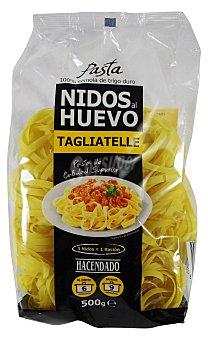 HACENDADO Nidos al huevo pasta Paquete de 500 g
