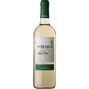Los Molinos Vino blanco joven D.O. Valdepeñas Botella 75 cl