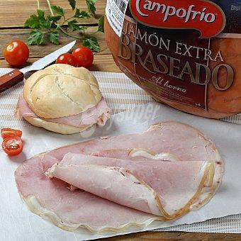 Campofrío Jamón cocido braseado Envase de 200.0 g. aprox