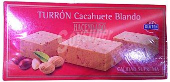 HACENDADO TURRON BLANDO DE CACAHUETE PASTILLA 150 g