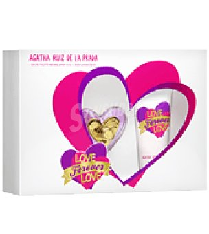 Ágatha Ruiz de la Prada Estuche de colonia 50 ml. + body lotion 100 ml. Love Forever Love 1 ud