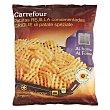 Patatas rejilla condimentadas Carrefour 600 g Carrefour