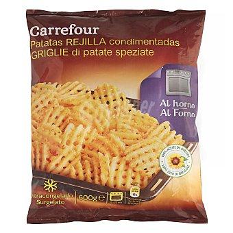 Carrefour Patatas rejilla condimentadas 600 g