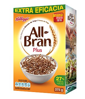 Kellogg's All bran All Bran Plus  375 GRS