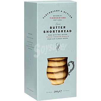 CARTWRIGHT & BUTLER Shortbread galletas de mantequilla tradicional Estuche 200 g