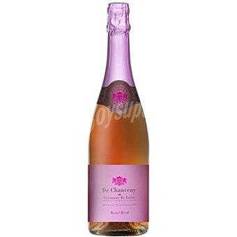 DE CHANDENY Cremant de Loire Vino espumoso brut rosé francés Botella 75 cl