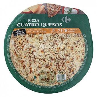 Carrefour Pizza 4 quesos Carrefour 400 g