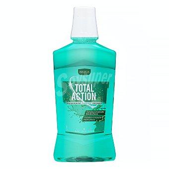 Deliplus Enjuague bucal total action (verde) Botella 500 ml