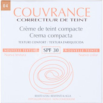 Couvrance Maquillaje compacto miel Pack 9,5 g
