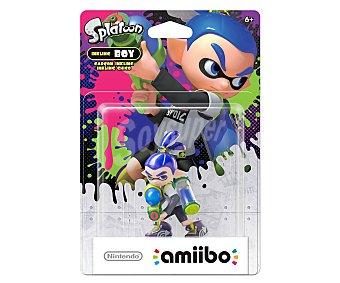 Nintendo Figura Amiibo Splatoon chico compatible con wiiu y New 3Ds y New 3Ds XL 1 unidad