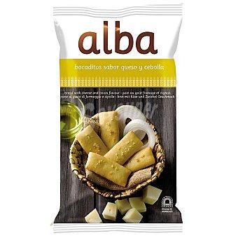 Alba Bocaditos de pan sabor queso y cebolla bolsa 110 g Bolsa 110 g