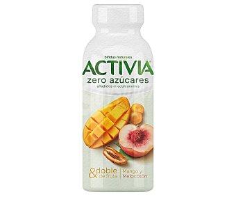 Activia Danone Bífidus líquido de origen natural para beber, con mango y melocotón 245 g