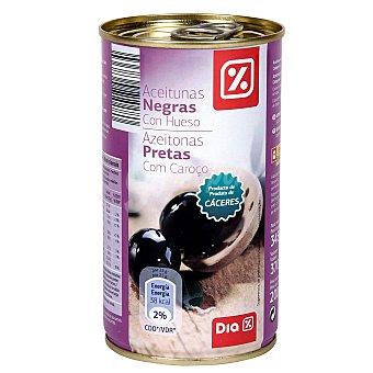 DIA Aceitunas negras con hueso Lata 200 gr