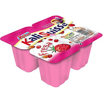 KALISUISSE Petit sabor fresa Pack 4 unidades 80 g