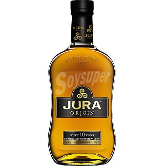 THE ISLE OF JURA Whisky escoces 10 años Botella 70 cl
