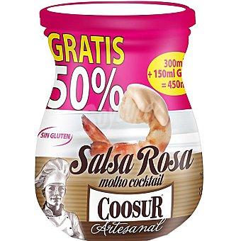 Coosur Salsa rosa cóctel Frasco 300 ml