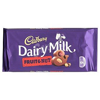 Cadbury Chocolate Cadbury con Leche, Fruta y Frutos Secos 200 gr