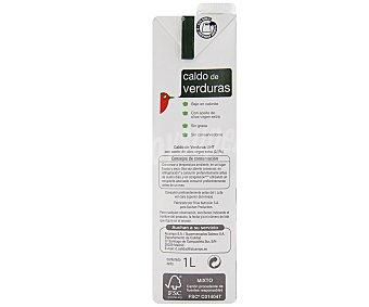 Auchan Caldo de Verdura Brik 1 Litro