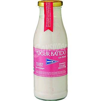 HIPERCOR yogur líquido batido con fresas envase 500 g