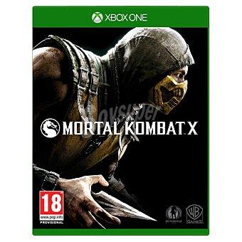 XBOX ONE Videojuego Mortal Kombat X 1 unidad