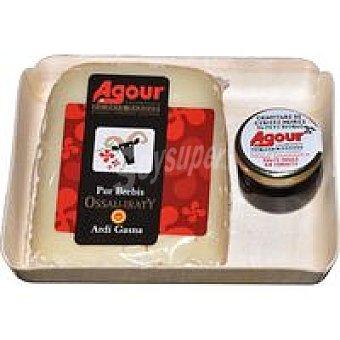 Queso Ossau Irati + mermelada cuña AGOUR 200 gr