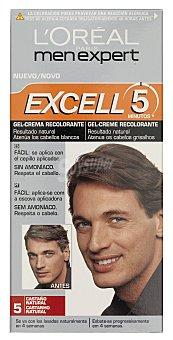 L'Oréal Tinte coloracion tono sobre tono hombre Nº 05 castaño natural excell 5 (peine aplicador) u