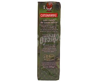 Catunambu Cafe molido natural paquete 250 GRS