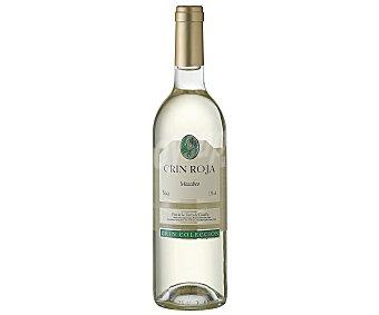 Crin Roja Vino blanco macabeo de la tierra de Castilla Botella de 75 centilitros