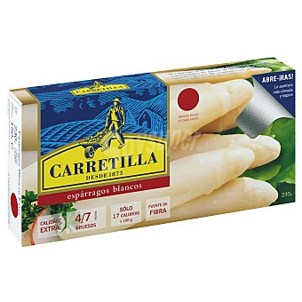 Carretilla Espárragos blancos extra 8-12 piezas Lata 150 g