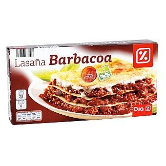 DIA Lasaña barbacoa Caja 600 gr