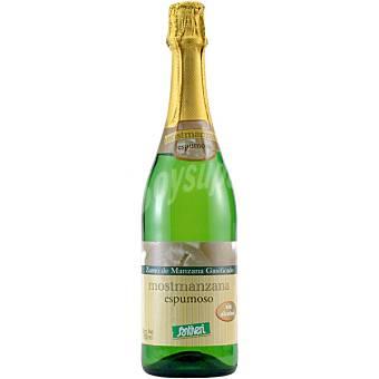 Santiveri Mosto de manzana gasificado Botella 750 ml