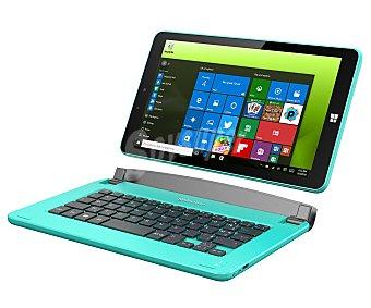 Selecline Ordenador portátil táctil híbrido (tablet+pc) (producto económico alcampo), azul, procesador: Intel baytrail Quad Core, Ram: 2GB, almacenamiento: 32GB, Windows 10 875403